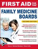 First Aid for the Family Medicine Boards, Le, Tao and Mendoza, Michael, 007173726X