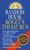 Random House Roget's Thesaurus, Ballantine Books Staff, 0345447263