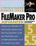 FileMaker Pro 5/5.5 Advanced for Windows and Macintosh : Visual QuickPro Guide, Baron, Cynthia and Peck, Daniel, 0201787261