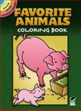 Favorite Animals Coloring Book, Cathy Beylon, 0486277275