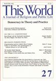 Democracy in Theory and Practice, , 1560007273