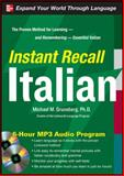 Instant Recall Italian, 6-Hour MP3 Audio Program, Gruneberg, Michael, 0071637273