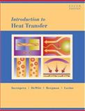 Introduction to Heat Transfer, Incropera, Frank P. and DeWitt, David P., 0471457272