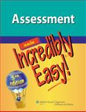 Assessment, Lippincott Williams and Wilkins Staff, 1451147279