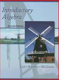 Introductory Algebra, Lial, Margaret L. and Hornsby, John, 0321097270