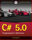 C# 5. 0 Programmer's Reference, Stephens, Rod, 1118847288