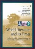 British and Irish Literature and Its Times 9780787637286