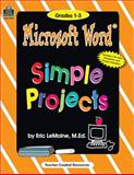 Microsoft Word Simple Projects, Jan Ray, 1576907295