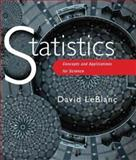 Statistics : Concepts and Applications for Science, Leblanc, David, 0763717290