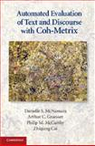 Automated Evaluation of Text and Discourse with Coh-Metrix, McNamara, Danielle S. and Graesser, Arthur C., 0521137292