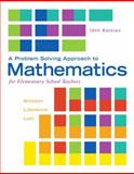 A Problem Solving Approach to Mathematics for Elementary School Teachers, Billstein, Rick and Libeskind, Shlomo, 0321987292