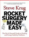 Rocket Surgery Made Easy, Steve Krug, 0321657292