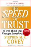 The Speed of Trust 1st Edition