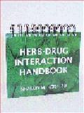 Herb-Drug Interaction Handbook, Herr, Sharon M., 096787730X