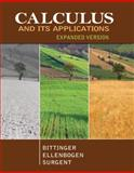 Calculus and Its Applications, Bittinger, Marvin L. and Ellenbogen, David J., 0321867300