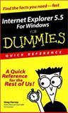 Internet Explorer 5.5 for Windows for Dummies, Greg Harvey, 0764507311