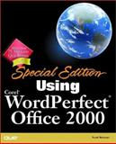 Special Edition Using Corel WordPerfect Office 2000, Reisner, Trudi, 078971731X