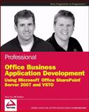 Professional Office Business Application Development, Steve Fox and Bill Sheldon, 0470377313