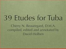39 Etudes for Tuba,, 0615387314