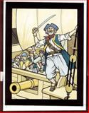 Pirates Stained Glass Coloring Book, John Green, 0486437310