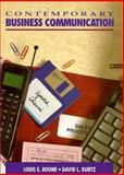 Contemporary Business Communication, Boone, Louis E. and Kurtz, David L., 0131747312