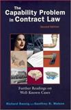 Capability Problem in Contract Law, 2004, Richard Danzig, Geoffrey R. Watson, 1587787326