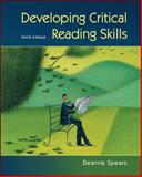 Developing Critical Reading Skills, Spears, Deanne, 0073407321