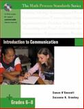 Introduction to Communication, Grades 6-8, O'Connell, Susan and Croskey, Suzanne G., 0325017328