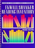 Ekwall - Shanker Reading Inventory, Ekwall, Hayward E. and Shanker, James L., 0205147321