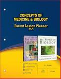 Concepts of Medicine and Biology Parent Lesson Planner, John Hudson Tiner, 0890517339