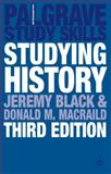 Studying History, Black, Jeremy and MacRaild, Donald M., 1403987343