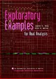 Exploratory Examples for Real Analysis, Snow, Joanne and Weller, Kirk, 0883857340