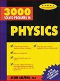 3,000 Solved Problems in Physics, Halpern, Alvin, 0070257345