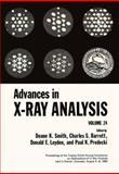 Advances in X-Ray Analysis, , 0306407345