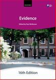 Evidence, The City Law School, 0199657343