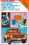 Manual de Reparación y Afinación Camionetas Pick-up Chevrolet y Gmc 1970-82 9789681817350