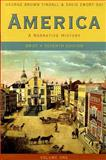 America Vol. 1 : A Narrative History, Tindall, George Brown, 0393927350