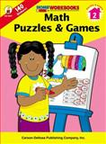 Math Puzzles and Games, Grade 2, , 0887247350