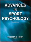 Advances in Sport Psychology, Horn, Thelma S., 0736057358