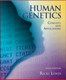Human Genetics : Concepts and Applications, Lewis, Ricki, 0072877359