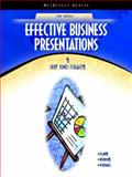 Effective Business Presentations, Tisdale, Judy Jones, 0130977357