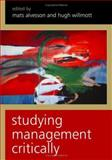Studying Management Critically, , 0761967362