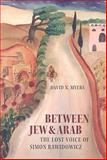Between Jew and Arab : The Lost Voice of Simon Rawidowicz, Myers, David N., 1584657367