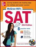 McGraw-Hill's SAT with CD-ROM, 2014 Edition, Black, Christopher and Anestis, Mark, 0071817360