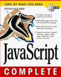 JavaScript Complete, Holzner, Steven, 0079137369