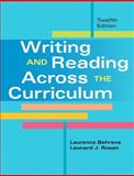 Writing and Reading Across the Curriculum Plus MyWritingLab with EText -- Access Card Package, Behrens, Laurence and Rosen, Leonard J., 013394736X