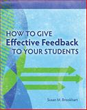 How to Give Effective Feedback to Your Students, Brookhart, Susan M., 1416607366