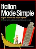 Italian Made Simple, Eugene Jackson and Joseph LoPreato, 0385007361
