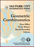 Geometric Combinatorics, Ezra Miller, 0821837362