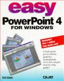 Easy PowerPoint 4 for Windows, Que Development Group Staff, 1565297377